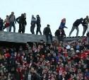"""На стадионе """"Арсенал"""" установят металлические решетки"""