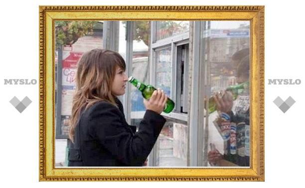 Тульским подросткам продавали алкоголь