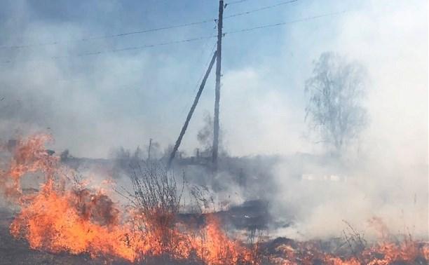 Тульские энергетики завершили подготовку к пожароопасному периоду