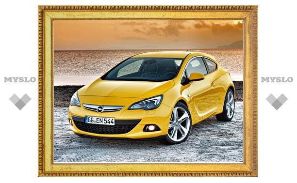 Opel показал трехдверную Astra GTC