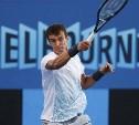 Тульский теннисист Андрей Кузнецов вышел в 1/8 финала Australian Open