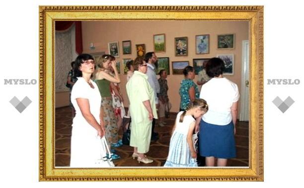 В Богородицком дворце-музее открылась новая выставка
