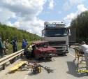 В Тульской области в результате ДТП погибла пассажирка ВАЗ-2107