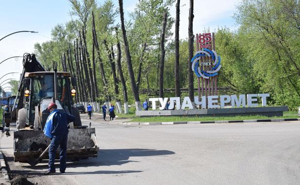Более 200 сотрудников Тулачермета и Тула-Стали приняли участие в общеобластном субботнике