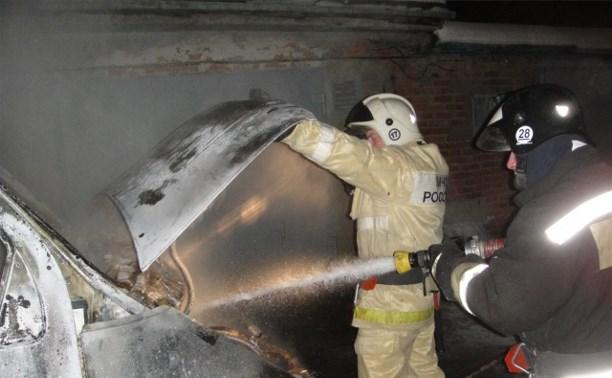 В Тульской области с начала года сгорело шесть автомобилей