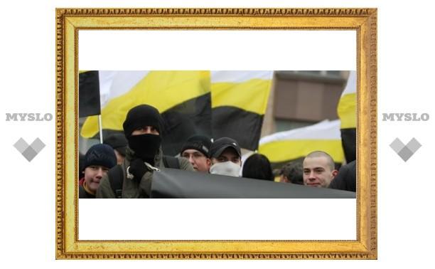 В Туле прошел «русский марш»