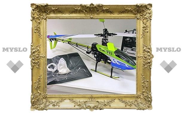Зэки купили вертолет, чтобы возить героин