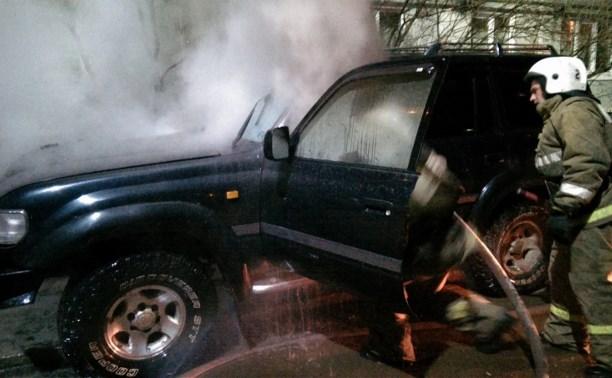 За ночь в Тульской области сгорели пять машин