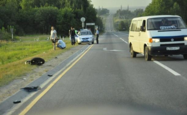 В ДТП на трассе М2 погиб 32-летний мотоциклист из Орла