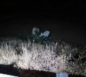 На трассе в Тульской области фургон опрокинулся в кювет