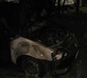 Ночью в Советском районе сгорели три машины