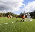 На поле стадиона «Металлург» возобновляются футбольные матчи