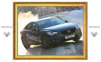 Тест-драйв Mazda6. Рост в классе