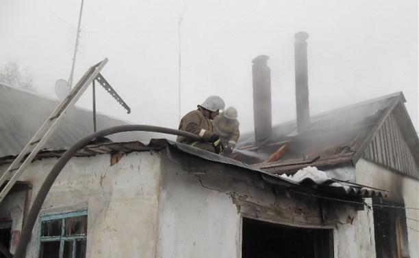 После пожара в Теплом скончалась 90-летняя женщина
