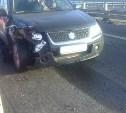 Авария с участием машины ГИБДД в Богородицком районе попала на видео