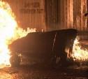 В Кимовске за одну ночь сгорел 31 контейнер с мусором