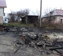 В селе Щекинского района сгорели две деревянные беседки