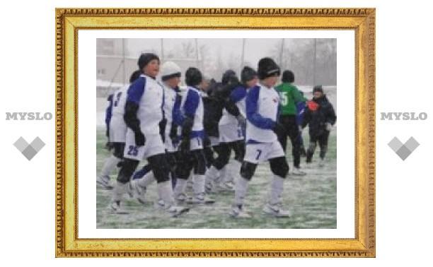 Тульские футболисты выступят в Москве