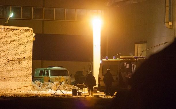 По факту гибели рабочих под завалами в Тульской области возбуждено уголовное дело