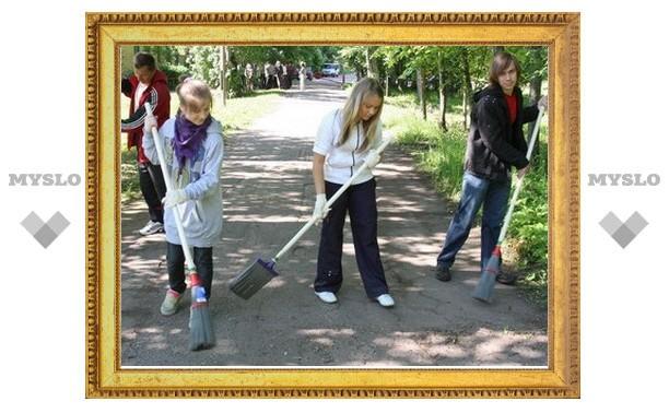 В Тульской области подростки смогут подработать летом