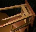 Житель Кимовска избил полицейского ножкой стула