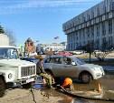 Коммунальная авария в центре Тулы: археологи задели трубу
