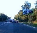 Невнимательный водитель Chevrolet Lanos устроил ДТП на Щекинском шоссе