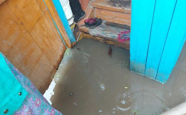 Ливневки не справились: в Туле после дождя затопило десятки приусадебных участков и улиц