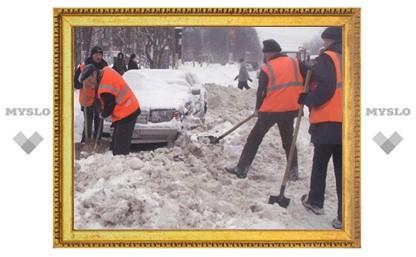 Ни одно жилищное предприятие Тулы не убирает снег качественно