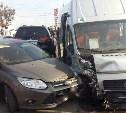 Массовое ДТП в Туле: На Пролетарском мосту столкнулись несколько машин