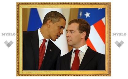 Медведев предложил Обаме постепенно отказаться от виз