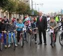 Мэр Тулы поедет на выборы на велосипеде