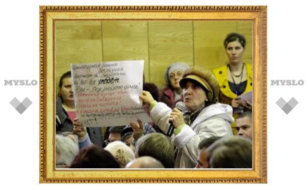Жители поселка Горный под Тулой ждут газа четыре года