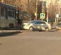 В Туле из-за ДТП на ул. Волкова встали трамваи