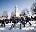 В Тульском кремле прошли большие масленичные гулянья