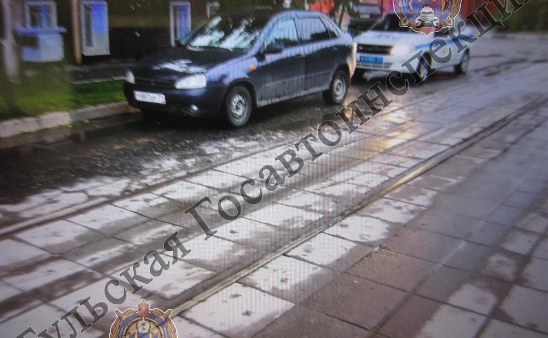 В Туле на ул. Коминтерна «Лада Калина» сбила женщину