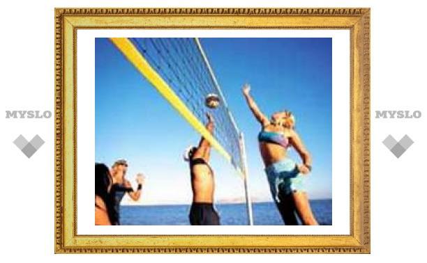 В Туле стартовал пляжный волейбол