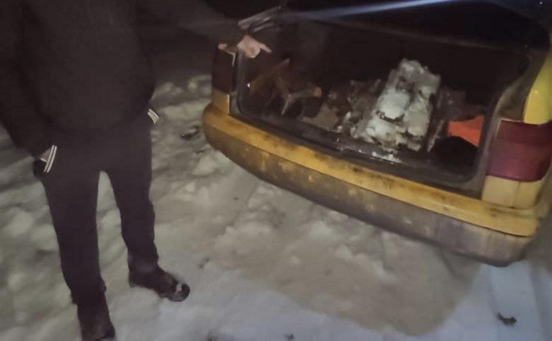 Ключом и кувалдой алексинец «добыл» на железной дороге 200 кг металла
