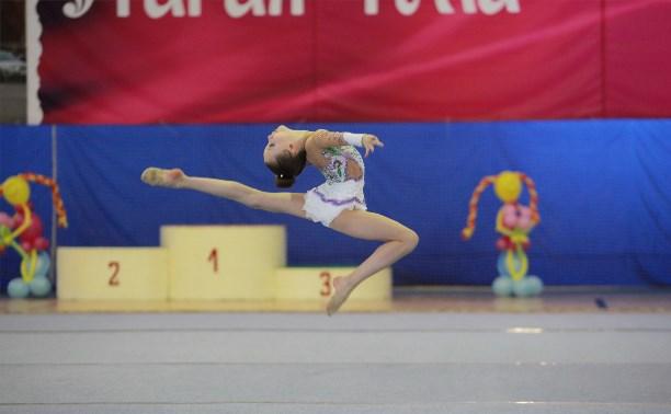 Тульские гимнастки стали первыми в командном зачёте