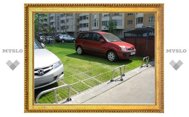 В 2010 году число экопарковок в Москве увеличится