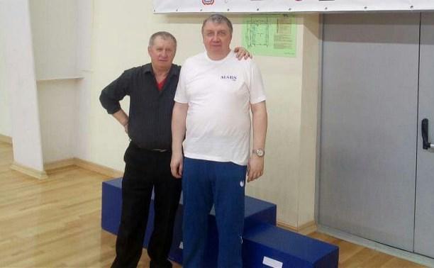 Туляки выступили на чемпионате России по настольному теннису среди ветеранов