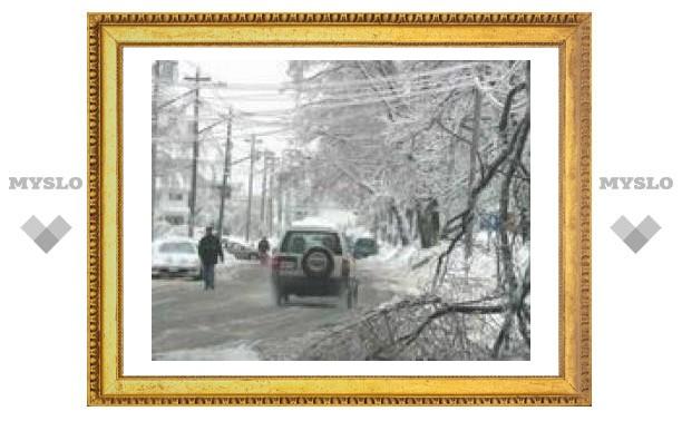 В Москву идут сильные морозы