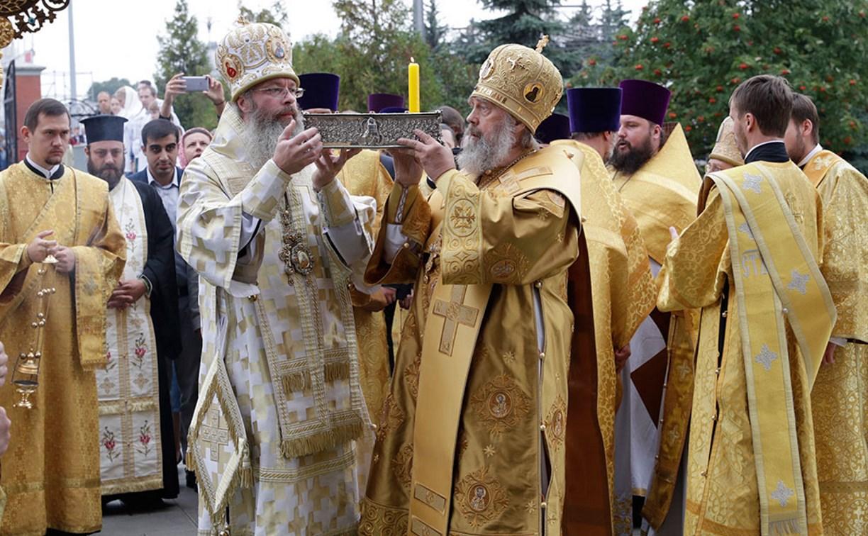 В Тулу прибыли мощи святителя Спиридона Тримифунтского