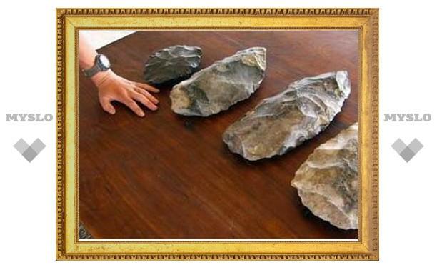 В Африке нашли огромные топоры каменного века