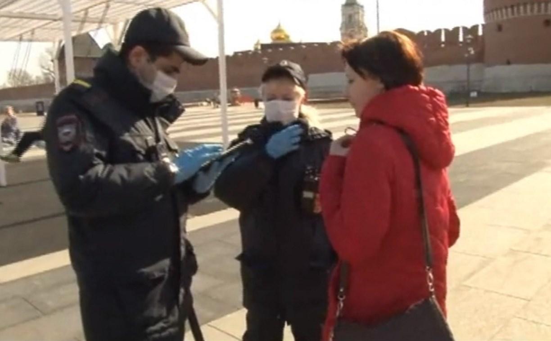 Полиция проверяет соблюдение туляками карантинных ограничений: видео