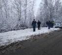 Под Новомосковском перевернулся микроавтобус