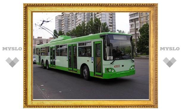Тульские троллейбусы меняют маршрут