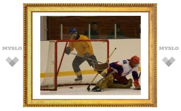 Тульские хоккеисты сильнее алексинских