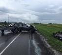 В аварии под Тулой перевернулась отечественная «Нива»