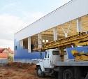 Строительство ФОКа в Новомосковске закончат к декабрю 2015 года